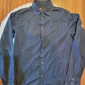 diesel men's dress shirt